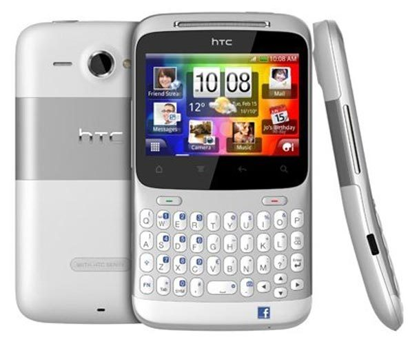 HTC ChaCha the facebook mobile