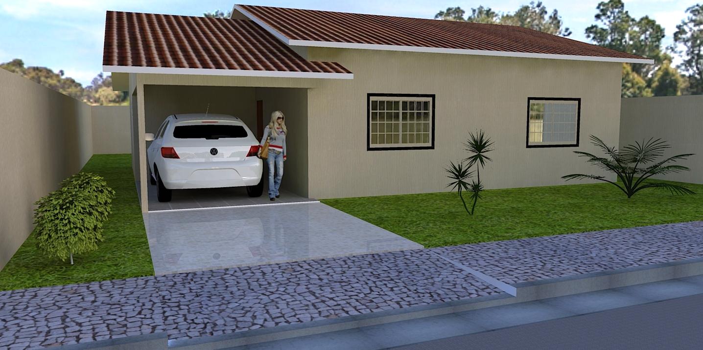 Projetos De Casas Casa Simples