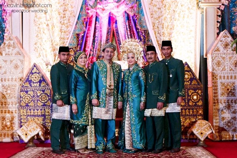 the peacock wedding review des iskandar