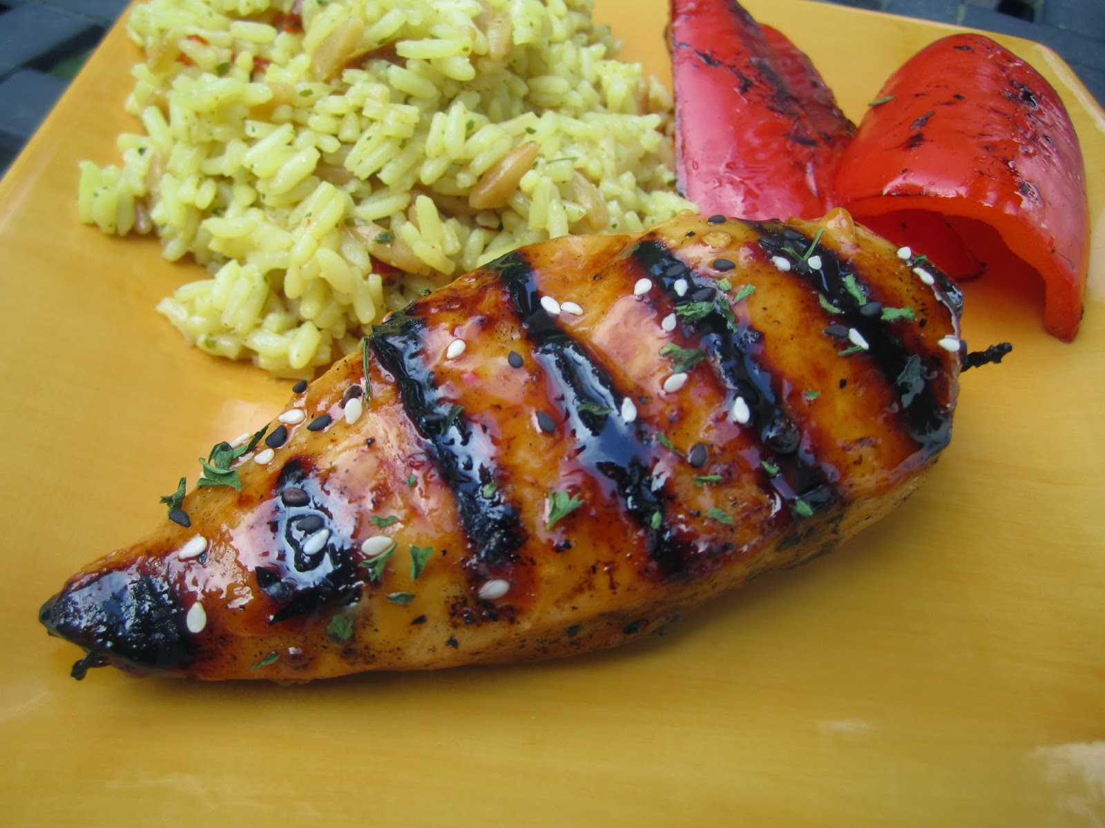 Stephanie Cooks: Grilled Asian Glazed Chicken