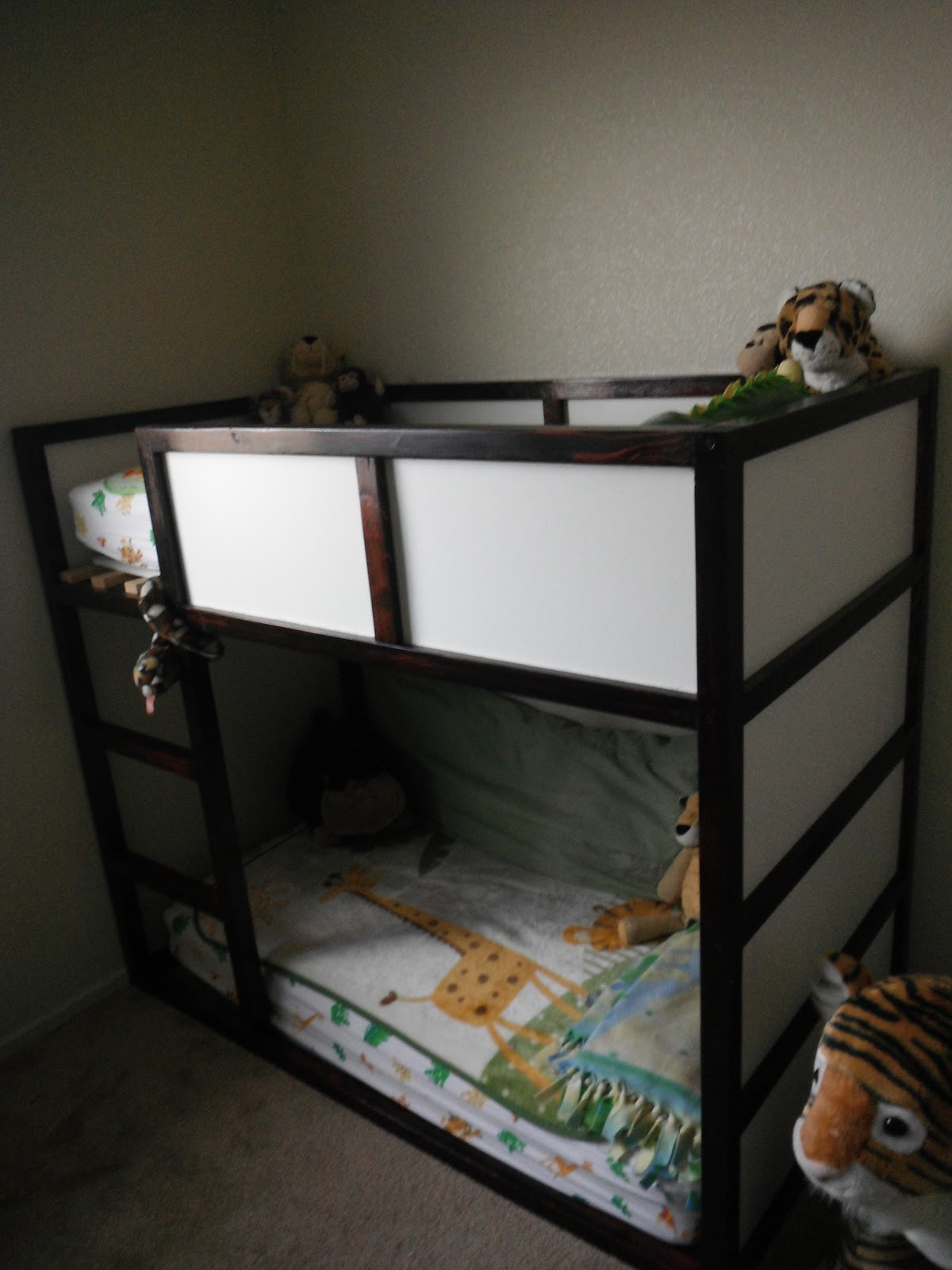 Crafting Weasels: Toddler Bunk Bed
