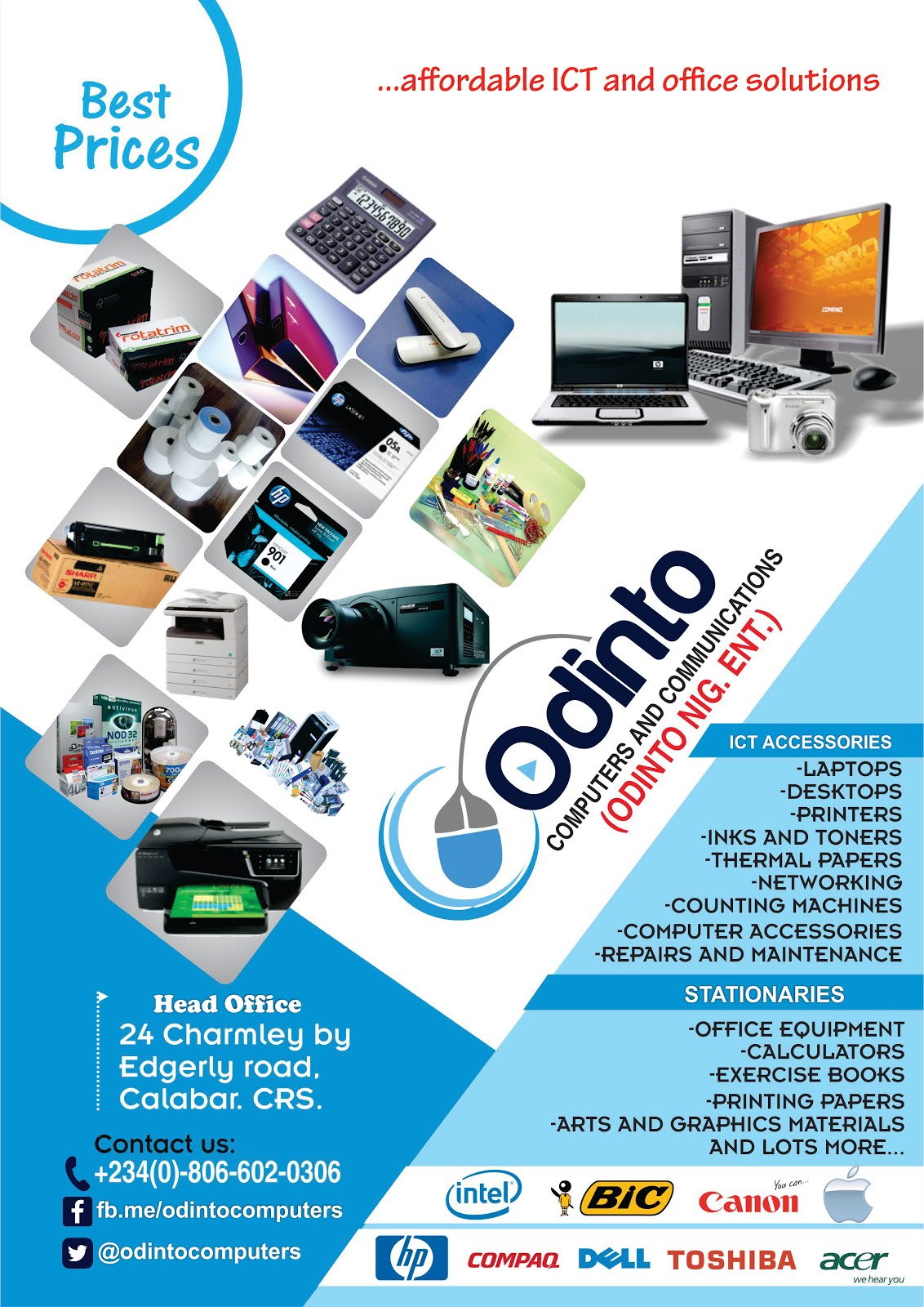 Odinto Computers & Communications