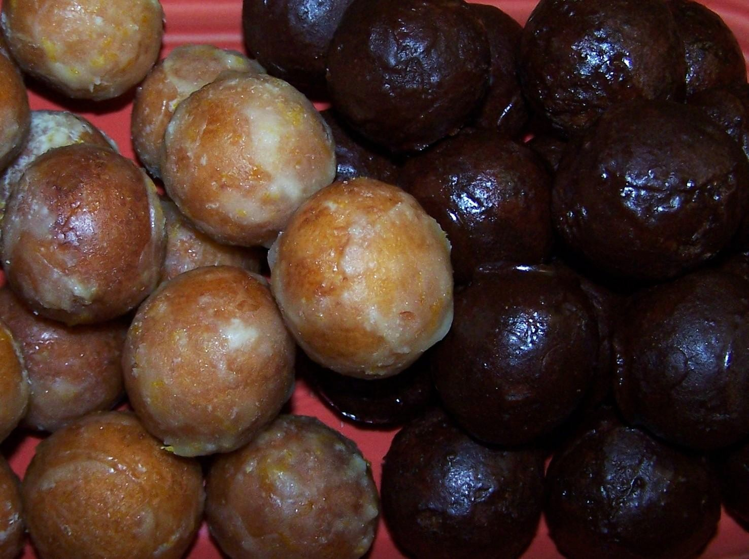EZ Gluten Free: Orange Olive Oil Doughnut Holes
