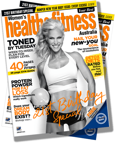 Andréa Albright Featured on Health and Fitness Jan. 2015: Lose Weight and Keep Them Off Forever