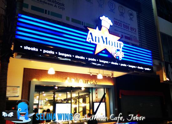 Anmour Cafe Taman Gaya Menu