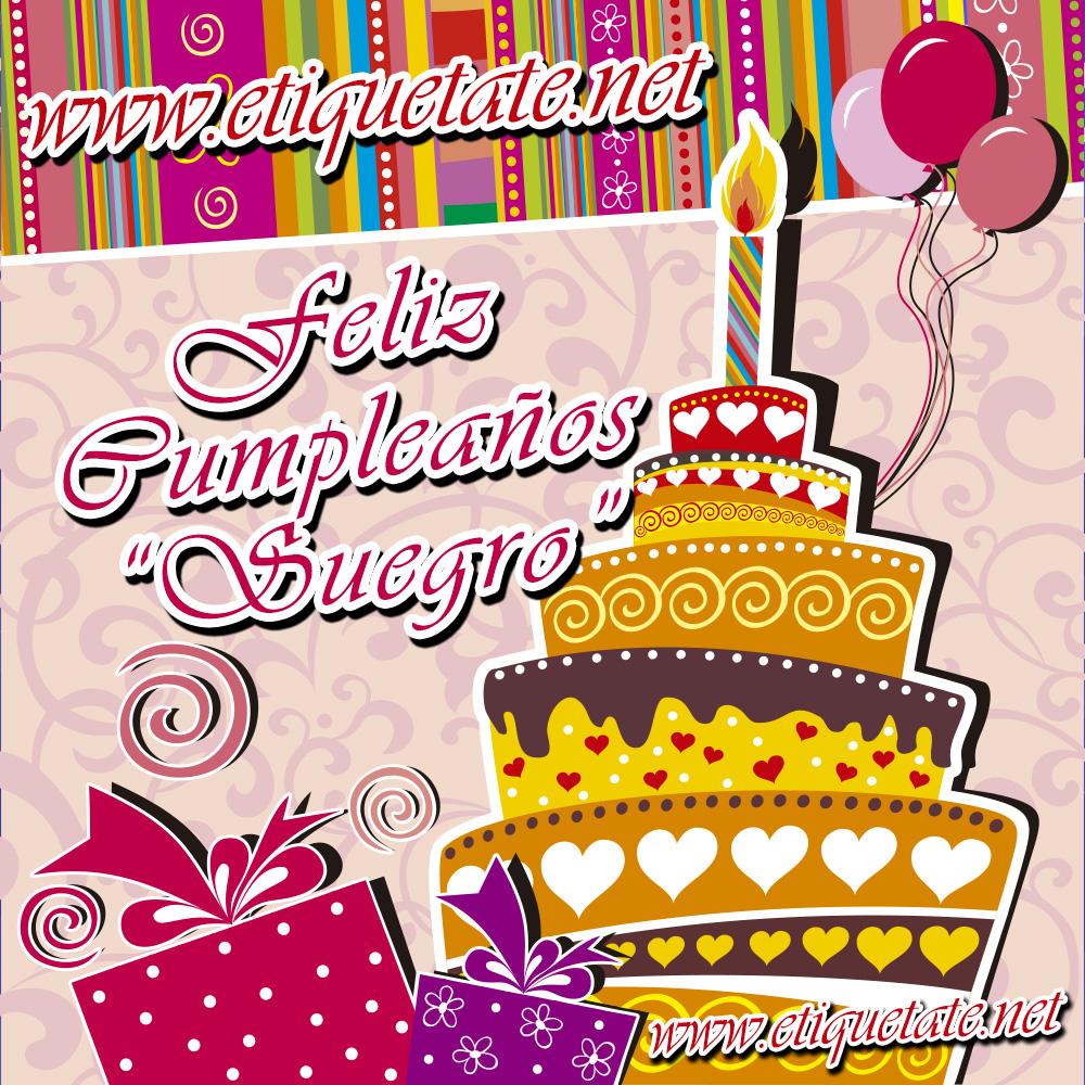 Feliz Cumpleaños Suegro