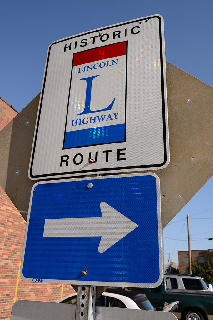 Lincoln Highway Sign