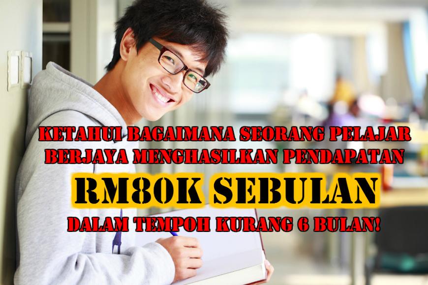 Teknik 2017 RM80K Sebulan