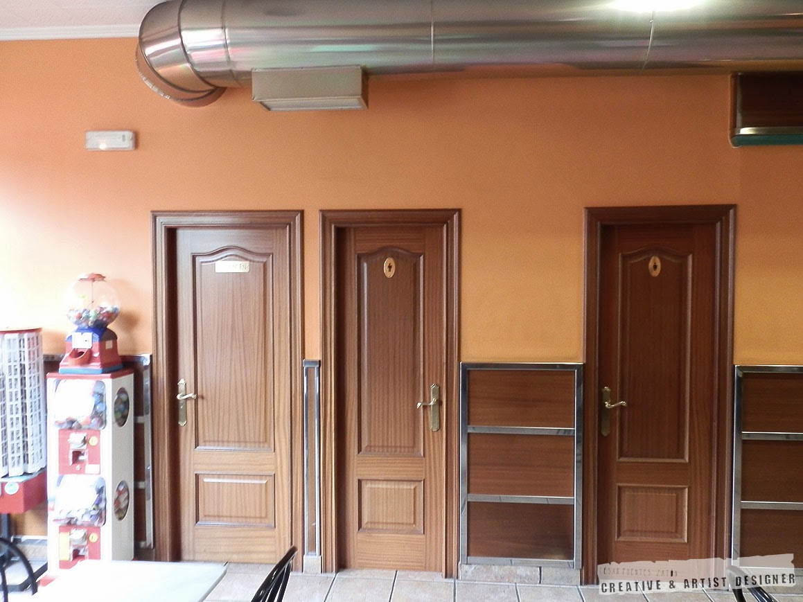 Proyecto de Interiosrismo Cafetería Gran Vía. (Antecedentes - Interior)