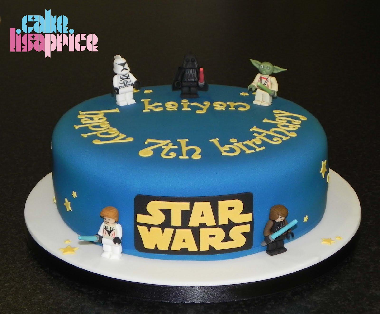 Cake by Lisa Price: LEGO Star Wars cake