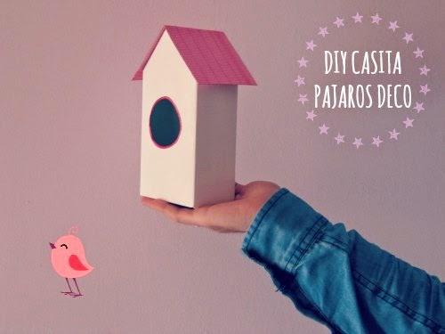 Presentación Casita para pajaros decorativa