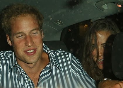 Kate Middleton partying.