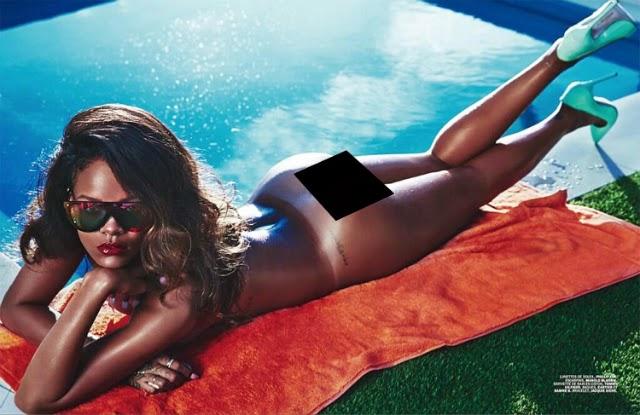 Rihanna en Lui Magazine
