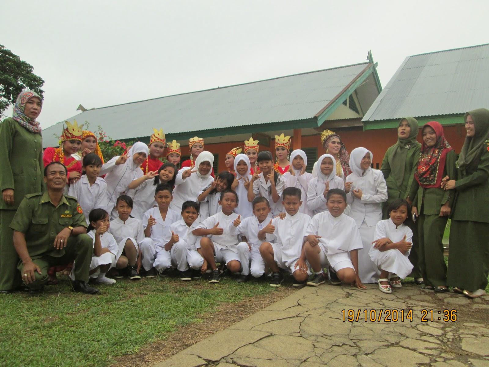 Team UKS SD Negeri No 149/VIII Muara Tebo