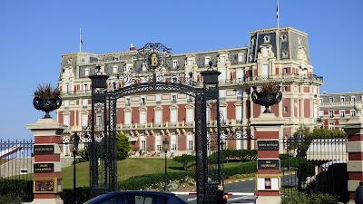 Hotel du Palais, Biarritz.
