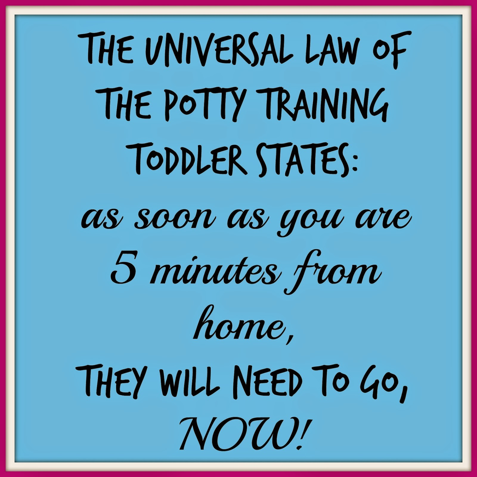 toilet training image, potty training meme