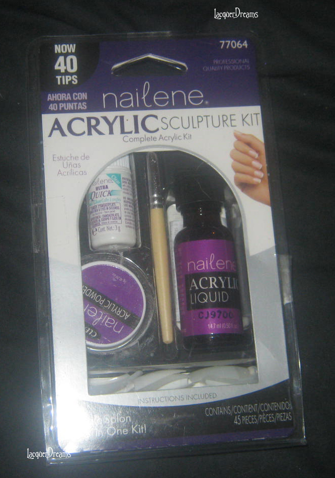 Lacquer Dreams: Nailene Acrylic Sculpture Kit
