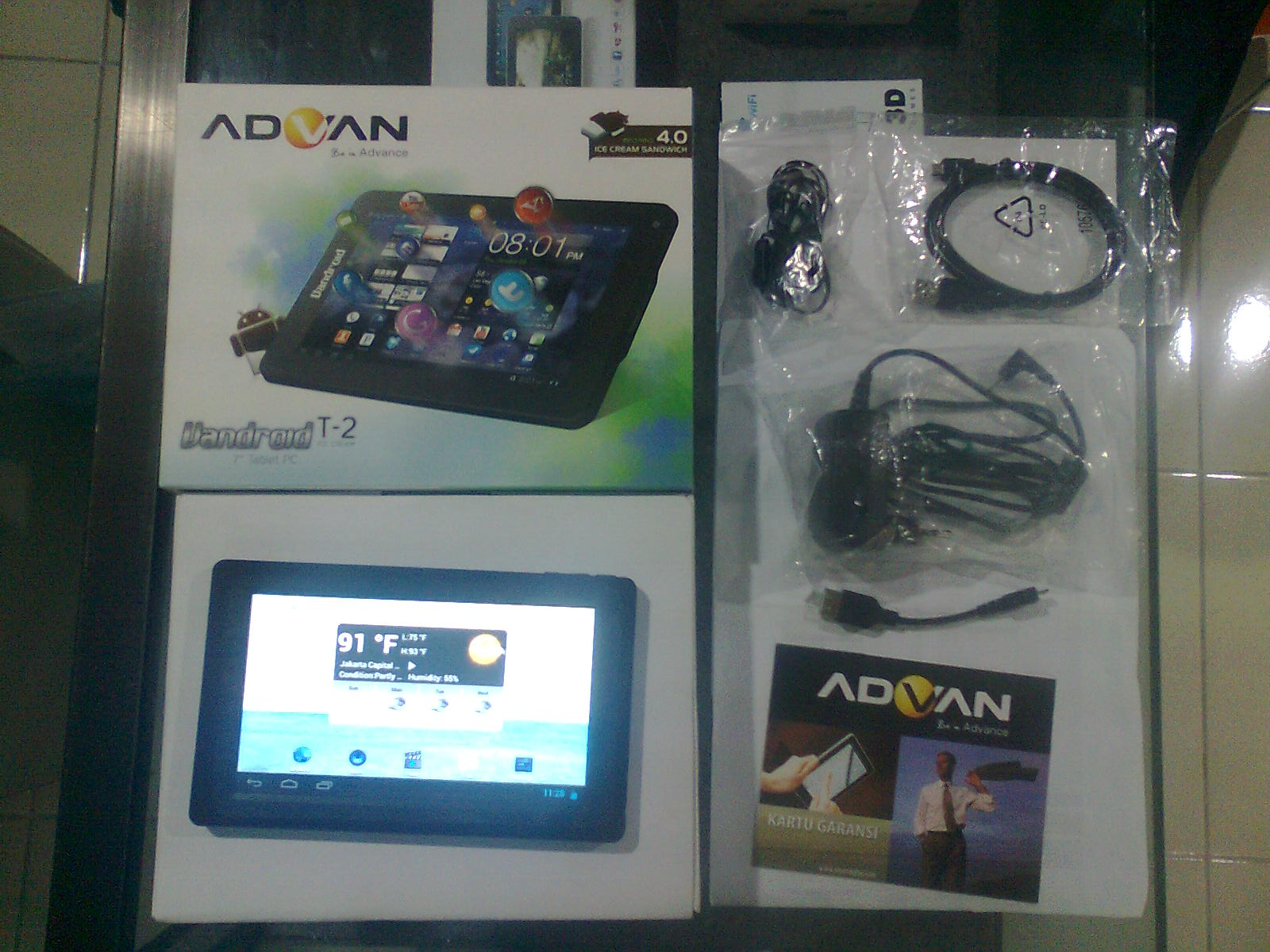 Spesifikasi Tablet Pc Advan Vandroid t2i