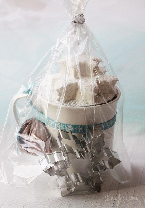 Homemade Vanilla Bean Agave Marshmallows | Skinnytaste