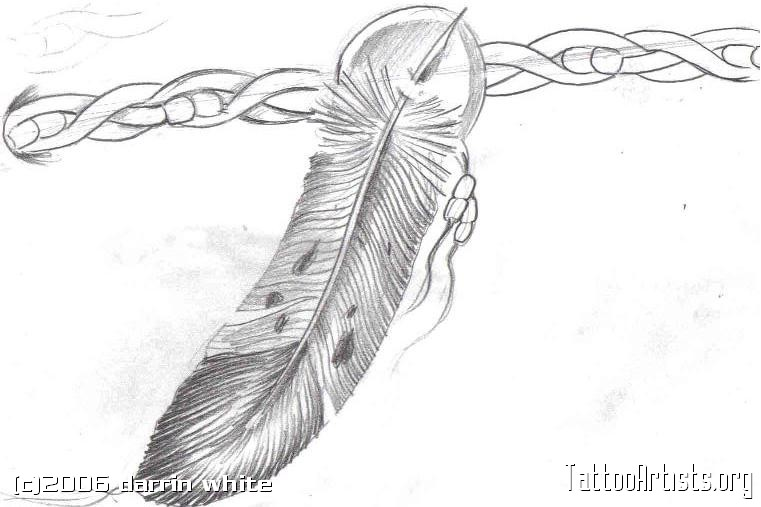 Eagle Feather Drawing German eagle tattooEagle Feather Pencil Drawing