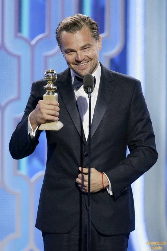 Leonardo DiCaprio a ramené son troisième Globo. Est-ce vraiment le prélude à son premier Oscar?