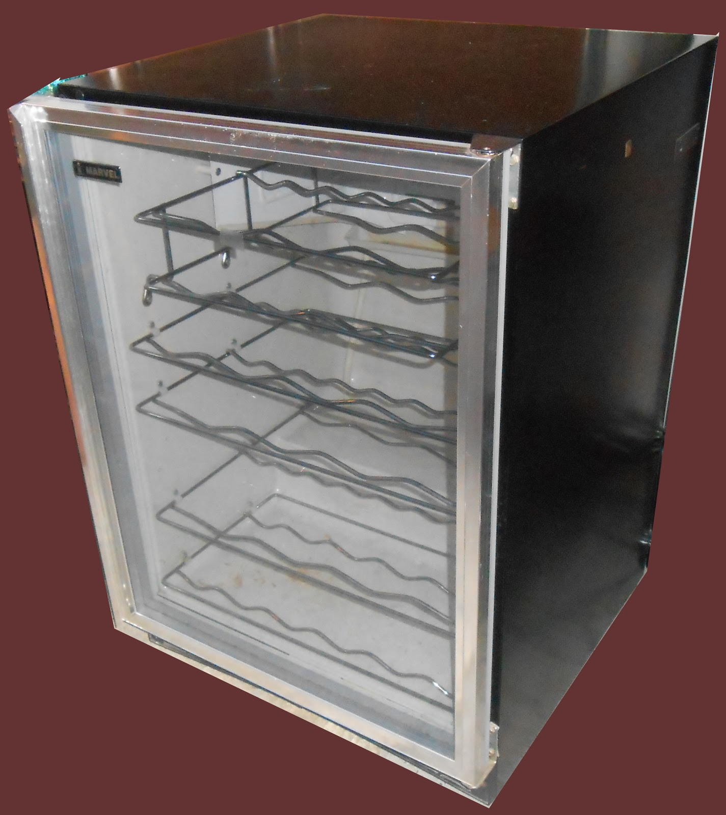 Uhuru Furniture & Collectibles Wine Cooler SOLD