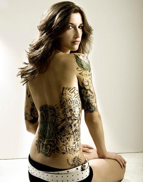 Pretty wild tattoo on full back
