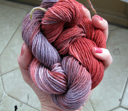 hand dyed yarn
