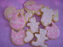 cookies nacimiento Cristina