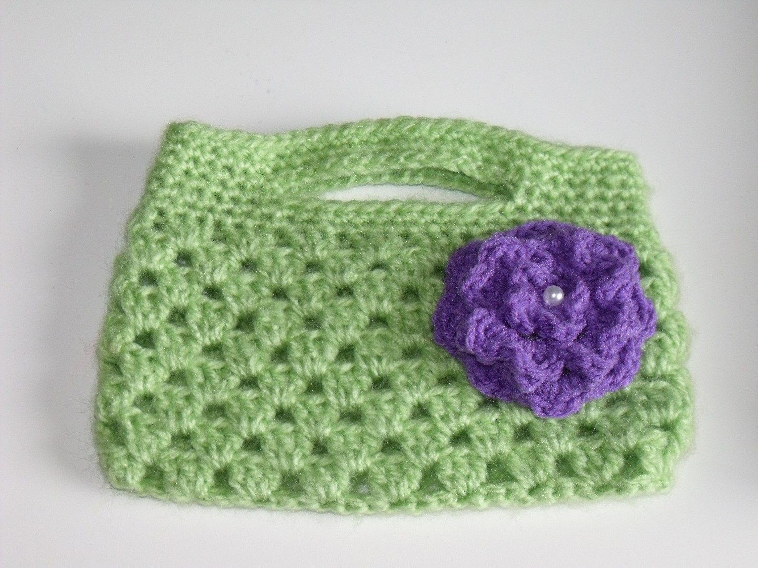Clever Crafty Cookin Mama Crochet Boutique Bag