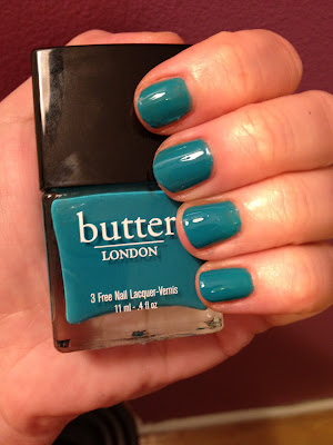 butter LONDON, butter LONDON nail polish, butter LONDON nail varnish, butter LONDON nail lacquer, butter LONDON swatches, butter LONDON Slapper
