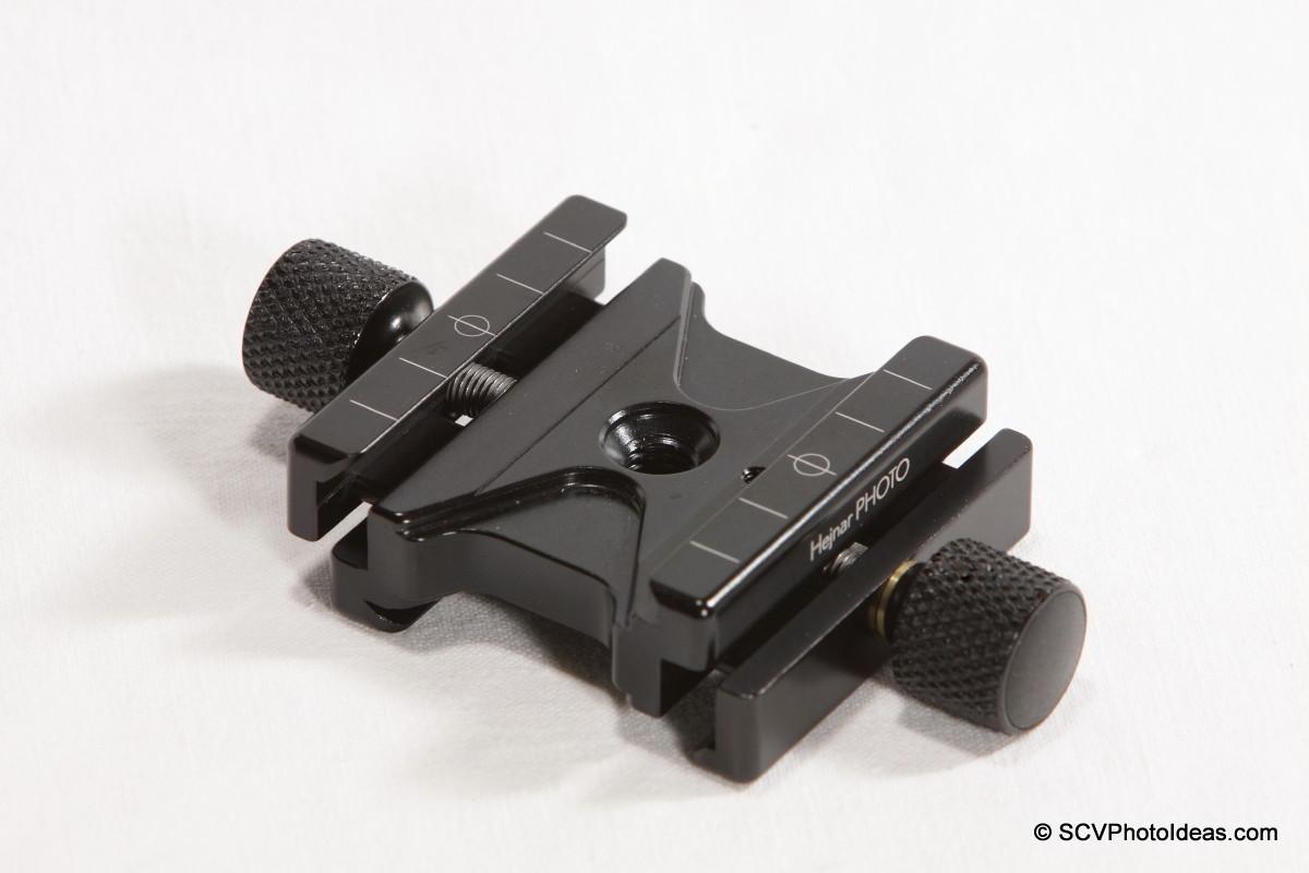 Hejnar PHOTO F51 Dual Subtend QR Clamp open jaws