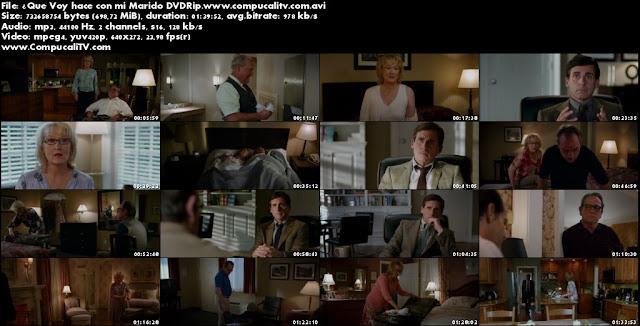 ¿Que Voy hace con mi Marido? DVDRip Español Latino Película 2012