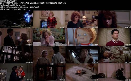 Saga Completa de Chuky El Muñeco Diabolico DVDRip Latino