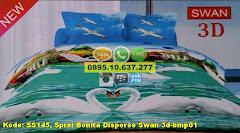 Harga Sprei Bonita Disperse Swan 3d-bmp01 Jual