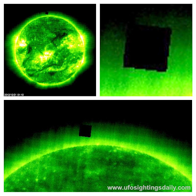 Giant Cube Recorded By NASA Near Sun On Dec 21, 2012. NASA Source.  Ovni,+omni,+space,+alien,+aliens,+Angelina+Jolie,+sun,+solar,+burst,+cube,+borg,+star+trek,+UFO,+UFOs,+sighting,+sightings,+Justin+Bieber,+astronomy,+Dec,+21,+2012