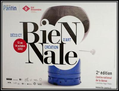 Affiche Biennale déco et Créations d'Art Pantin 2012, Centre National de la danse