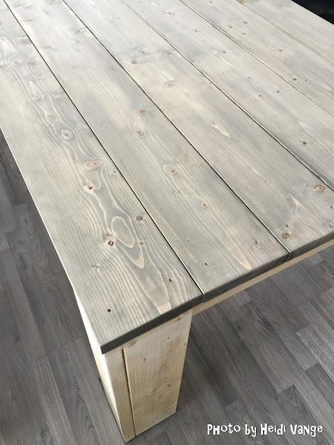Hvite blonder og myke karameller: diy: spisebord 3:3