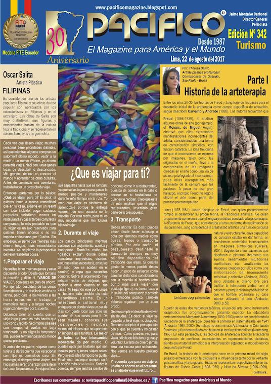 Revista Pacífico Nº 342 Turismo