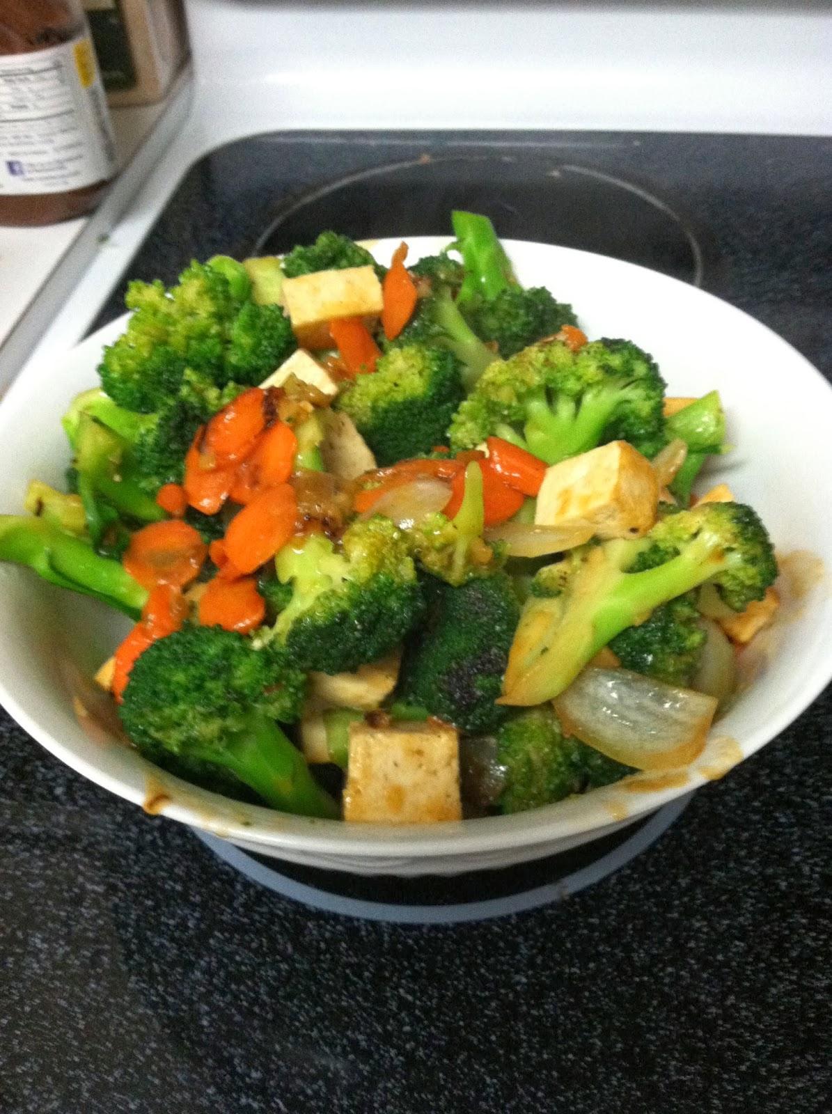 Northside Food: Easy Tofu and Broccoli Stir Fry