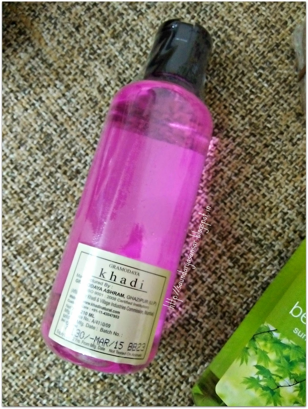 Khadi Rose & Honey Body Wash