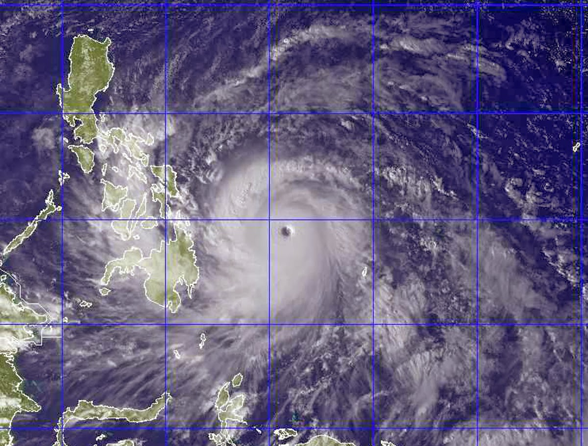 no typhoon can bring filipinos to their knees if we ll be united he said in a televised address