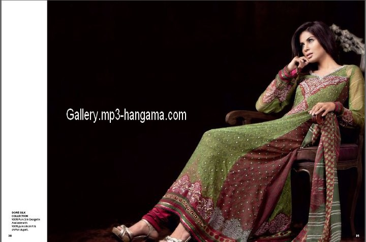 pareesa Lawn Collection 2011 Royal Wedding of Prince William