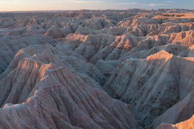 Badlands National Park: Big Badlands Overlook Sunrise