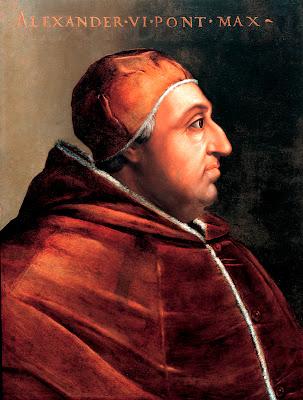 Pope Alexander VI Rodrigo Lanzol Borja