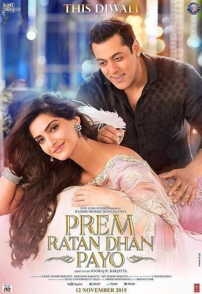 Poster Of Prem Ratan Dhan Payo 2015 1CD pDVDRip Hindi