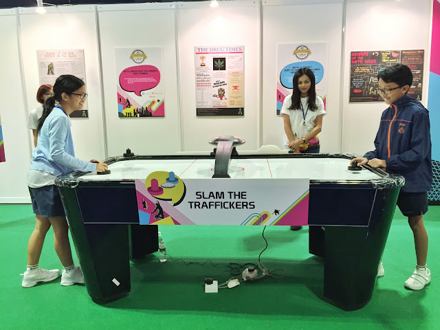Singapore Anti-Drug Abuse Carnival 2015 - Game Booths