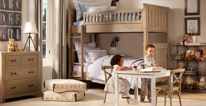 Estilo rustico dormitorios rusticos infantiles for Dormitorios rusticos ikea
