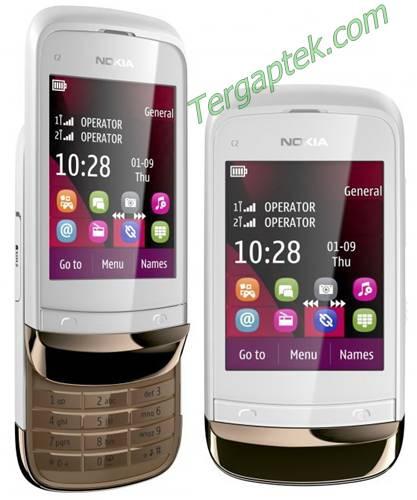 Handphone Nokia Murah Dual Sim ON (Nokia X1-01, Nokia C2-00 dan Nokia