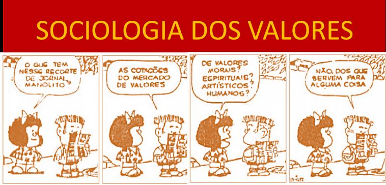 Sociologia dos Valores